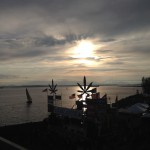 Hempfest sunset